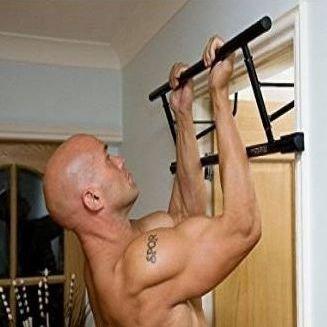 barra dominadas puerta sin tornillos